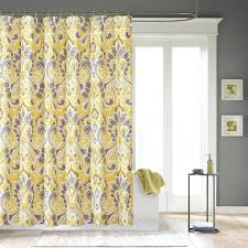 Yellow And Grey Window Curtains Yellow And Grey Curtains Teawing Co