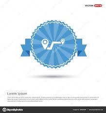 Map Route Map Route With Pointers Icon U2014 Stock Vector Ibrandify 139423896