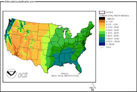 rainfall totals map united states yearly annual and monthly total precipitation