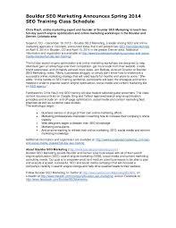 online seo class boulder seo marketing announces 2014 seo class schedu