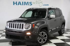 jeep renegade used 2016 used jeep renegade fwd 4dr limited at haims motors serving