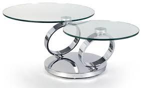 Modern Glass Coffee Tables Glass Swivel Coffee Table Worldtipitaka Org