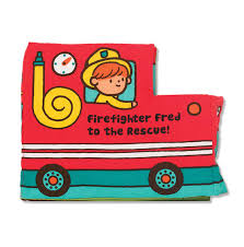 activity book firefighter fred rescue