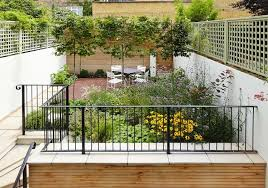 terraced house garden form u2013 ideas and tips for a rectangular