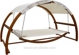 double hammock with wooden stand interior design ideas