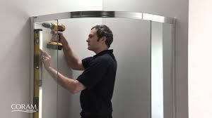 coram shower door spares coram optima quadrant step by step install guide from byretech
