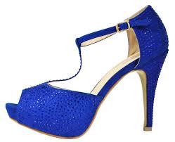 suede t strap peep toe high heel shoe