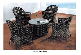 Black Outdoor Wicker Chairs Online Get Cheap Black Wicker Furniture Aliexpress Com Alibaba