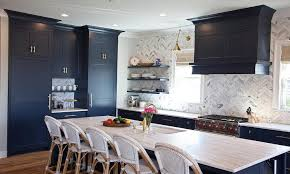 Navy Blue Kitchen Decor Navy Kitchen Island Design Ideas