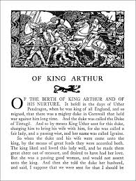 the romance of king arthur book graphics