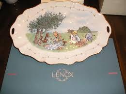 winnie the pooh lenox platter
