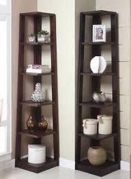 Corner Bookcase Unit Corner Shelves Eliminate Dead Space Corner Shelf Corner And Shelves