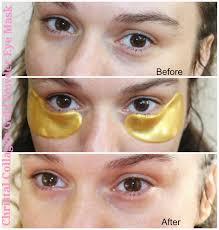 Collagen Mask beautiful me plus you cristal collagen gold powder eye mask does