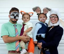 Despicable Family Halloween Costumes Homemade Zootopia Family Halloween Costumes Creative Costumes