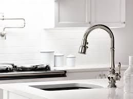 Single Hole Kitchen Sink Faucet Standard Plumbing Supply Product Kohler Artifacts K 99261 Cp