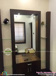 furnished bedroom interior kerala home design and floor plans