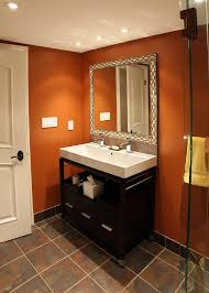 Paint Colors For Powder Room - powder room paint colors powder room contemporary with sconce