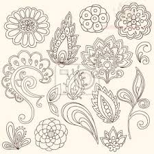 paisley pattern leaves designs for