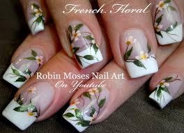 robin moses nail art elegant white flower nails