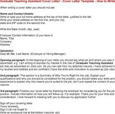 cover letter examples for teacher assistant