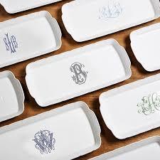 monogrammed serving platter 96 best dinnerware monogrammed images on wedding