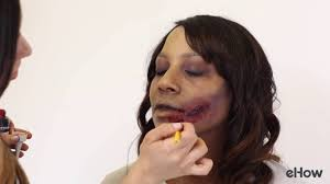 wound halloween makeup how to make a bloody wound with makeup youtube