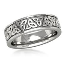 celtic mens wedding bands celtic knot wedding band