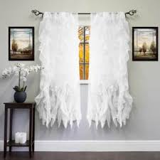 Shabby Chic White Curtains Shabby Chic Curtains Drapes For Less Overstock