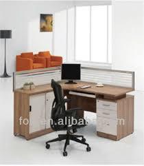 Workstation Computer Desk Wood Traditional Office Workstation Computer Desk Glass Wall