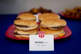 optimus prime birthday party transformers birthday party ideas