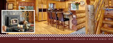 summer c cabins thinking about a pellet stove or fireplace in your cabin