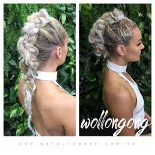 Show Pony Hair Extensions by Glitters Braids Today Hair By Natalieanneeducation Using