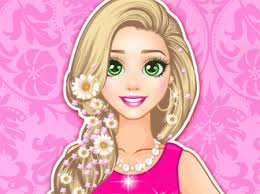 rapunzel barbie doll cute games