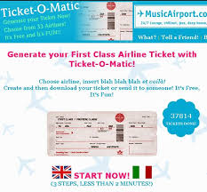fake plane ticket template airline ticket template word blank