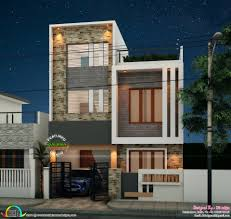 home design for 650 sq ft 1800 sq ft 4 bedroom modern box type home kerala home design