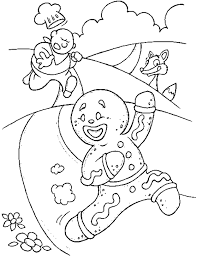gingerbread man coloring pages printable for kids coloringstar