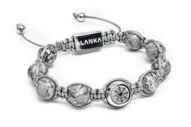 shamballa bracelet images Grey marble double signature shamballa bracelet alanka jewelry jpg
