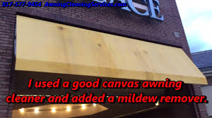 Cleaning Sunbrella Awnings Cleaning A Canvas Awning To Remove Mildew Dallas Fort Worth Tx