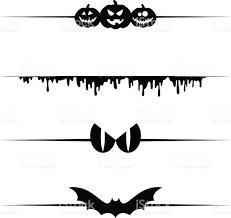 halloween vector dividers stock vector art 604011118 istock