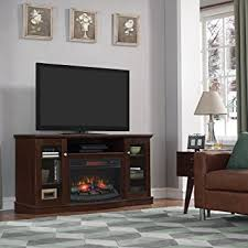 Electric Fireplace Entertainment Center Chimneyfree Walker Infrared Electric Fireplace