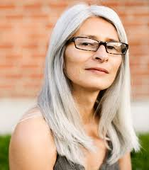 hairstyles with grey streaks 15 gorgeous gray hairstyles for women of all ages
