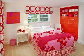 Pink And Orange Bedroom Orange And Pink Rooms