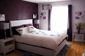 black and white bedroom decor ideas plain dark red wall paint