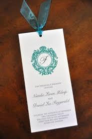 wedding programs with ribbon wedding program wiregrass weddings