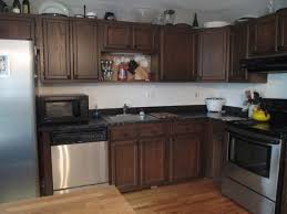 Java Stain Kitchen Cabinets by Restain Kitchen Cabinets Dark Wood With Kitchen Imposing