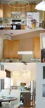 20 stylish and budget friendly ways to decorate above kitchen closing the gap above kitchen cabinets can give the appearance of taller ceilings