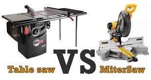 compound miter saw vs table saw when do you use a miter saw versus a table saw quora
