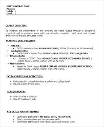 Sample Hr Resumes For Freshers by Sample Resume Format For Mba Hr Fresher Speakspowers Tk