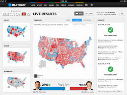 Election Interactive Map by How We Built Usa Today U0027s Election Night Maps U2013 Points Of Interest