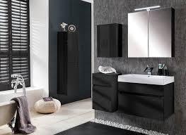 badezimmer set günstig sam design badmöbel set parma 5tlg hochglanz schwarz 70 cm